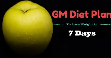 GM Diet Plan to Lose Weight in 7 Days