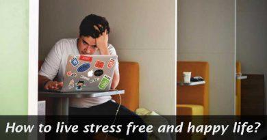 live stress free happy life