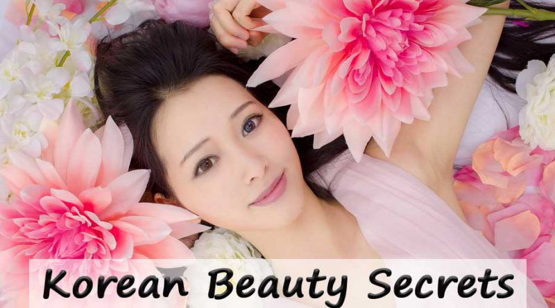 To Korean beauty secrets